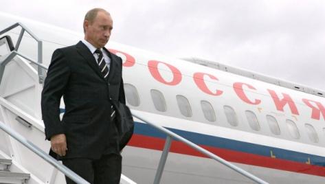 Путин прилетел в Бурятию