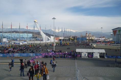 Олимпийский парк, прибрежный кластер