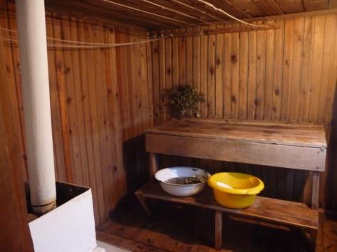 Тепло бурятской гостеприимности: баня