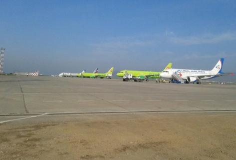 Аэропорт Улан-Удэ принял три самолета направлявшихся в Читу