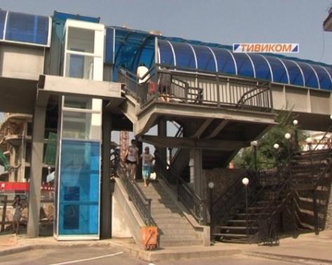 В Улан-Удэ выключили лифты на развязке у Центрального рынка