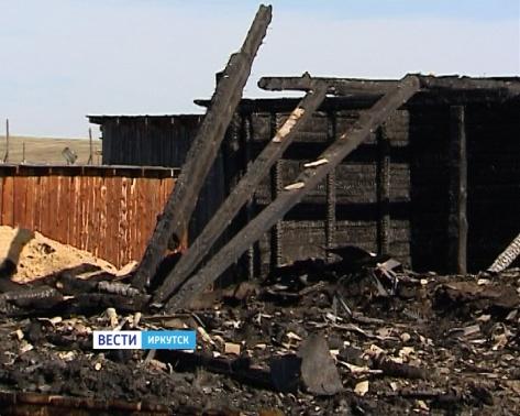 Под Иркутском на ферме заживо сгорели 200 животных