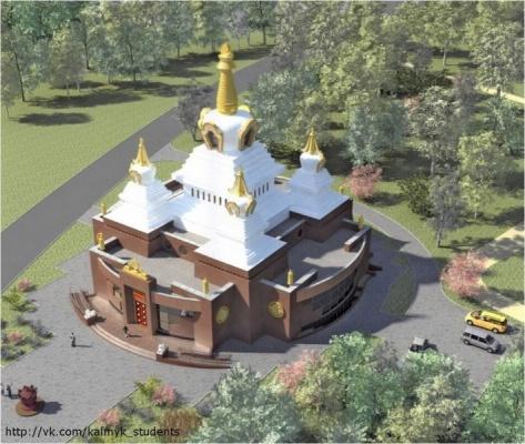 В Москве построят буддийский храм