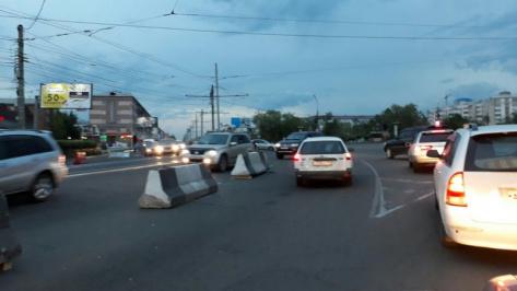 В Улан-Удэ схема движения по ул. Бабушкина во время ремонта вызывает сомнение