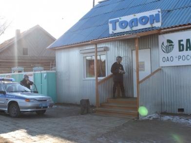 В Бурятии грабители магазина пытались вскрыть банкомат