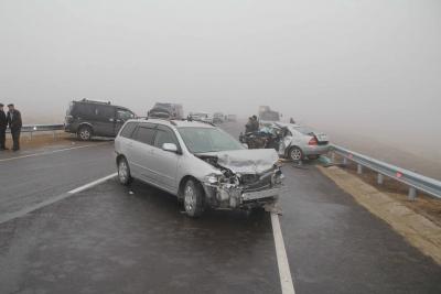 В Бурятии из-за тумана произошло смертельное ДТП