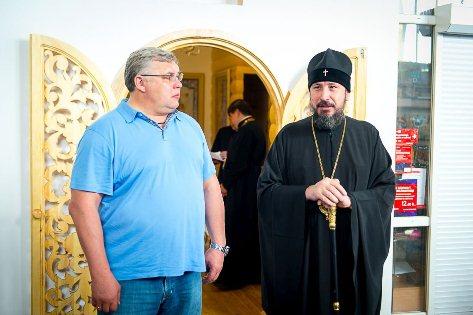 В аэропорту Улан-Удэ освятили часовню в честь святого архистратига Михаила