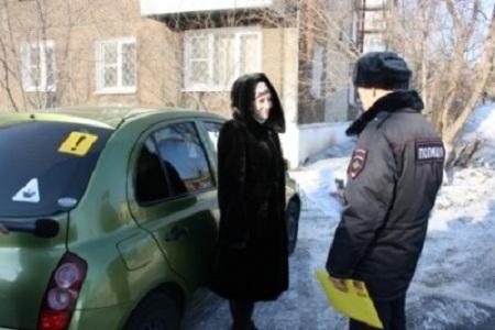 Сотрудники полиции провели профилактические беседы с женщинами-водителями