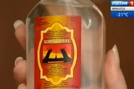 """В Бурятии обнаружено 510 бутылок смертельной настойки """"Боярышника"""""""