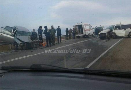 В Бурятии в ДТП погиб водитель и пострадали пассажиры