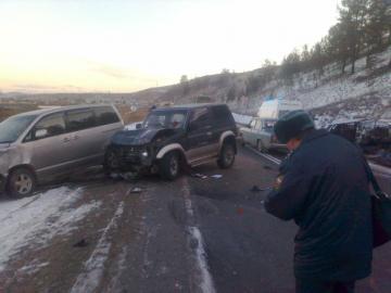 В Бурятии в результате ДТП погибло 4 человека (обновлено)