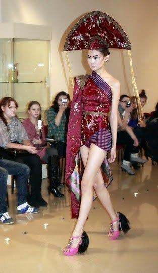 Показ коллекции Ивана Терентьева состоялся в Улан-Удэ 16 ноября