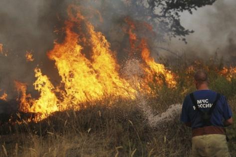 В трех районах Бурятии ожидается IV повышенный класс пожарной опасности