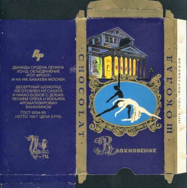 """5 легендарных шоколадок из СССР, которые по моему мнению были гораздо лучше """"Аленки"""""""