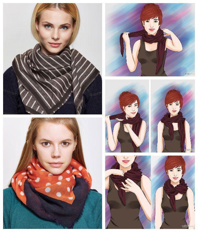 Семь простых способов носить шарф