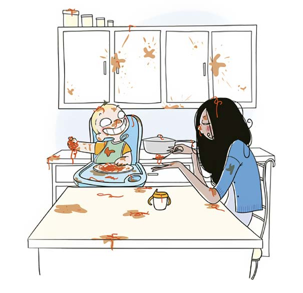 Правдивые и невероятно смешные иллюстрации о жизни мам
