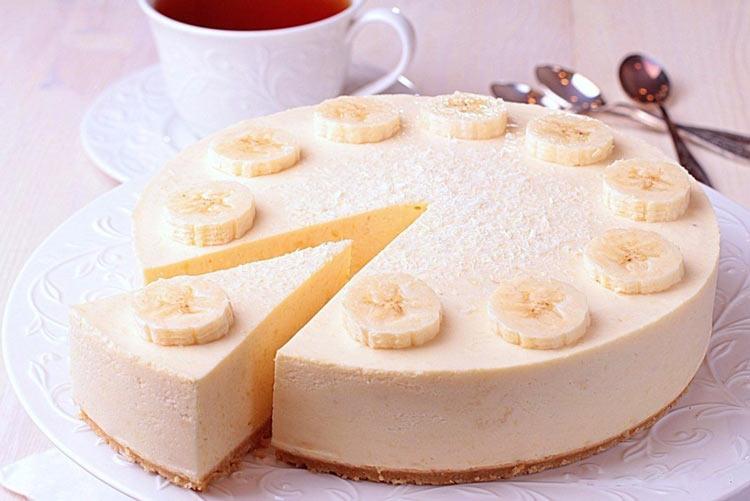 Десерт мечты! Банановый чизкейк без выпечки и без хлопот