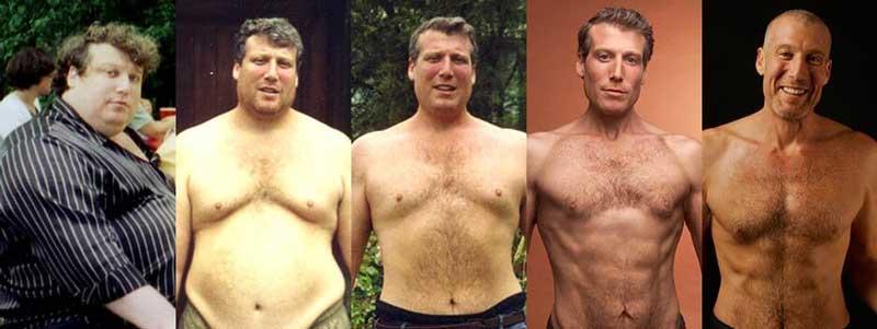При помощи 7 правил, которые вывел самостоятельно он сумел похудеть на 100 кг