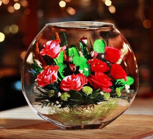 Любой цветок можно сохранить навсегда. Оригинальное украшение интерьера и отличный подарок!