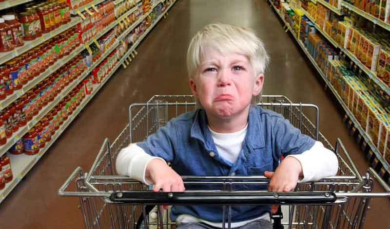 Можно ли взять с собой в магазин ребёнка и не пожалеть об этом?