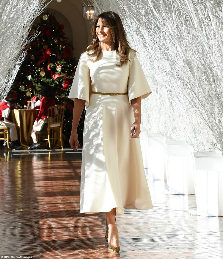 Мелания Трамп превратила Белый дом в настоящую сказку!