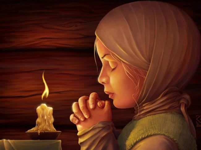 Если у вас трудный период в жизни, прочтите эту молитву. Очень мощная!