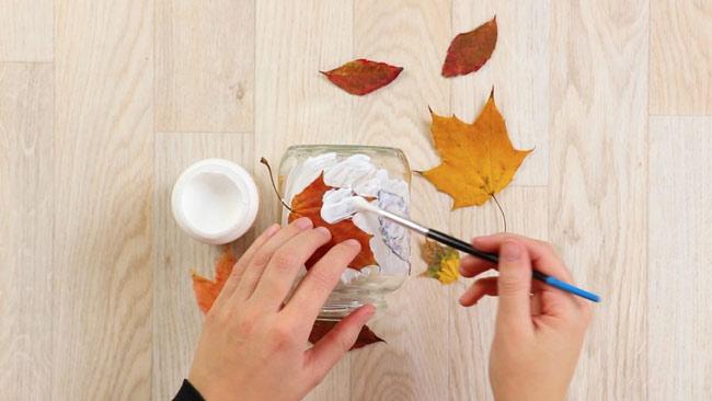 Идеи домашнего декора для осени: Соберите все листья!