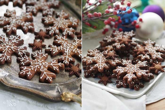 Ароматное пряное печенье для зимних праздников