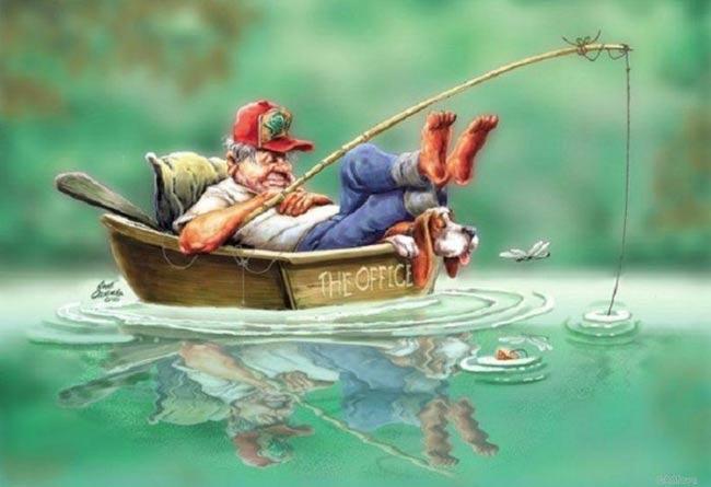 Ты когда последний раз был на рыбалке?