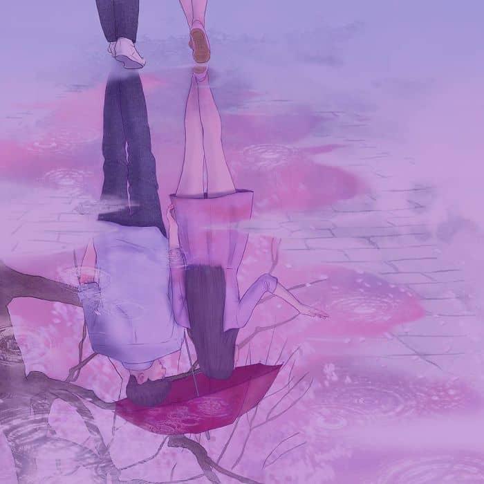Корейский художник рисует любовь так, что вы буквально сможете её почувствовать