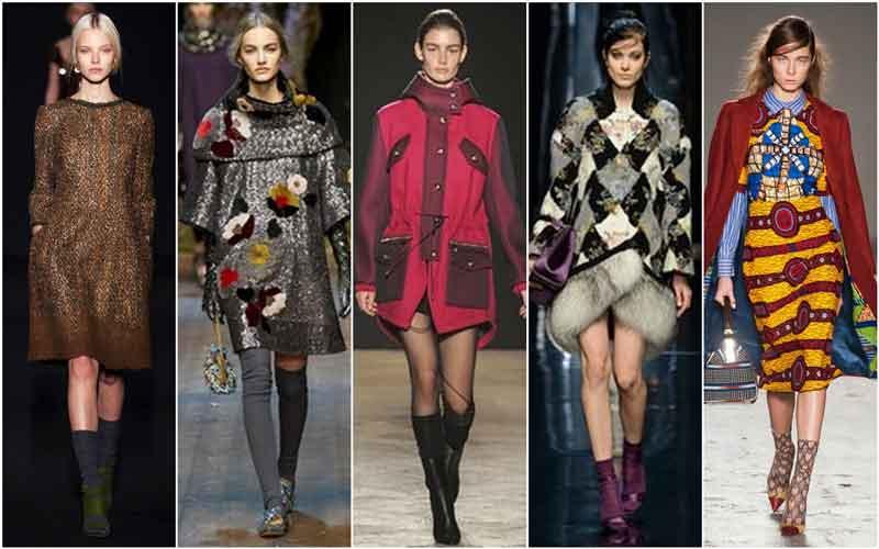 Модные тенденции в одежде на сезон осень — зима 2017