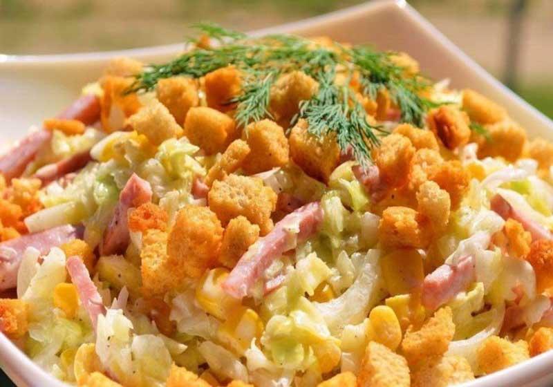 Рецепт самого «Удачного» салата