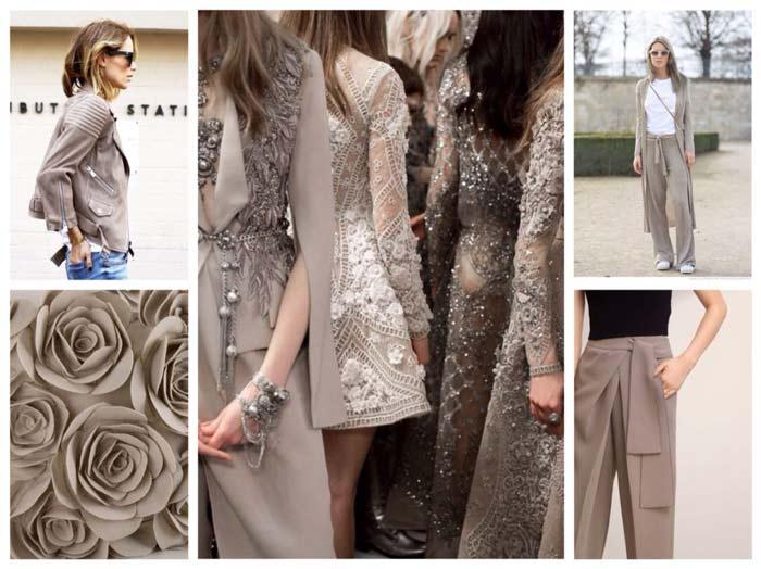 Тауп – модный и самый элегантный цвет в 2018 году