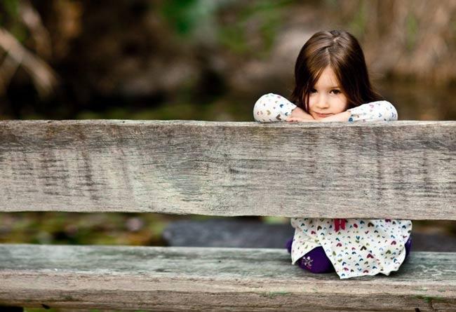 Безразличие людей к потерявшемуся ребенку